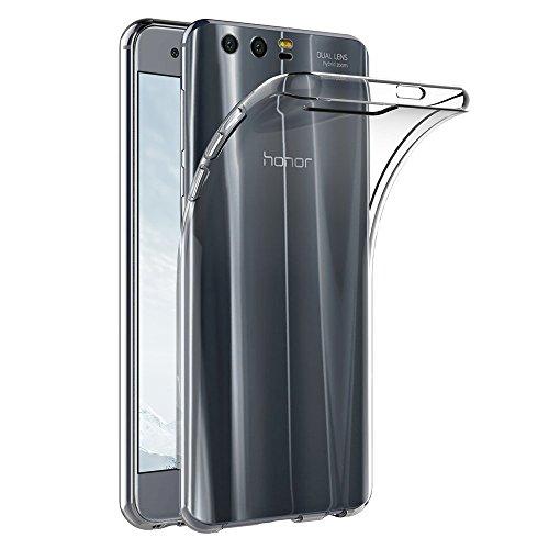 Funda Honor 9, Carcasa para Huawei Honor 9, Ultra Transparente Delgado Funda Protector de TPU RosyHeart Cubierta protectora de Cristal Suave para Huawei Honor 9 STF-L09 5.15
