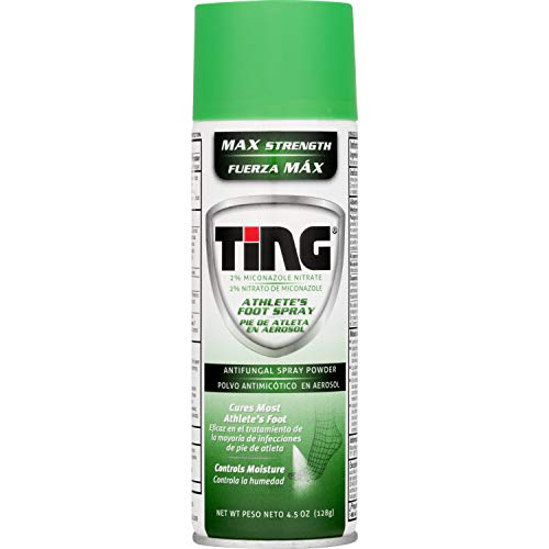 Ting Max Strength Athlete's Foot Spray, 4.5 Ounces (Pack of 1)