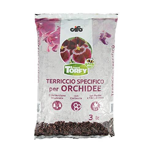 CIFO Linea Torfy, Terriccio specifico per Orchidee...