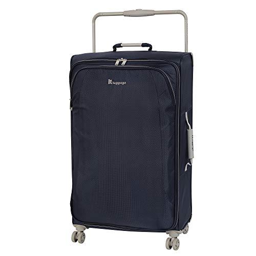 it luggage World's Lightest New York 8 Wheel Super Lightweight Suitcase Large Valise, 80 cm, 83 liters, Gris (Magnet)