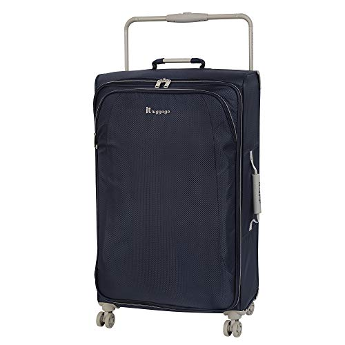 IT Luggage 31.5' World's Lightest 8 Wheel Spinner, Magnet With Cobblestone Trim