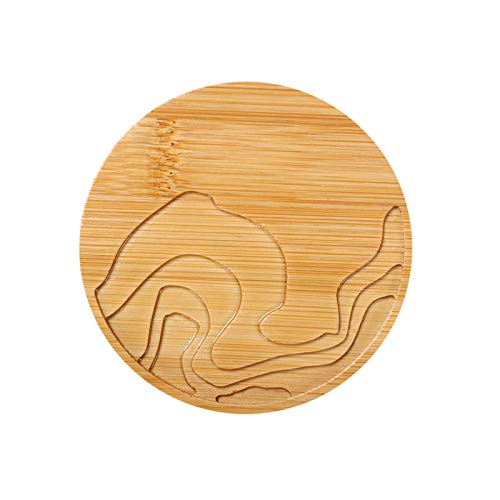 Slitstark kudde Värmeisolerad tabell Placemats Gradient Bamboo Coaster Creative Placemat Party Supplies Multifunktionsdyna (Color : Picture 1, Size : Size 2)