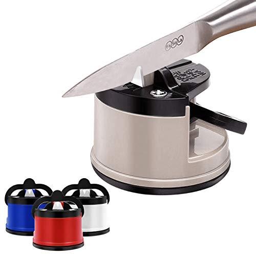 Messerschärfer – Messerschleifer für alle Messer inklusive Sägemesser – nie Wieder Stumpfe Messer mit dem Messerschärfer Profi aus Wolframkarbid