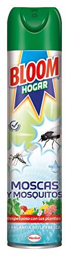 Bloom Hogar Aerosol Insecticida Contra Moscas y Mosquitos - 600 ml