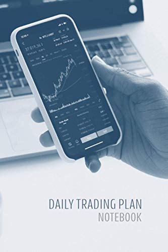 Daily Trading Plan Notebook: Blue Tone Trading Journal
