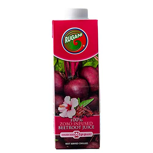 Zobo (Hibiscus) Infused Beetroot and Carrot Juice Blend – 100% Pure Natural Fresh Juice Health Drink
