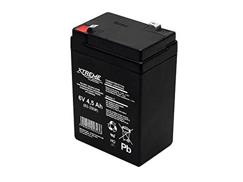 Xtreme - Batería de movilidad 6V 4.5Ah AGM de gel