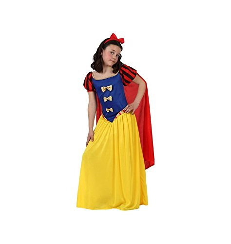 Atosa-10752 Disfraz Princesa de Cuento, color amarillo, 3 a 4 años (10752)