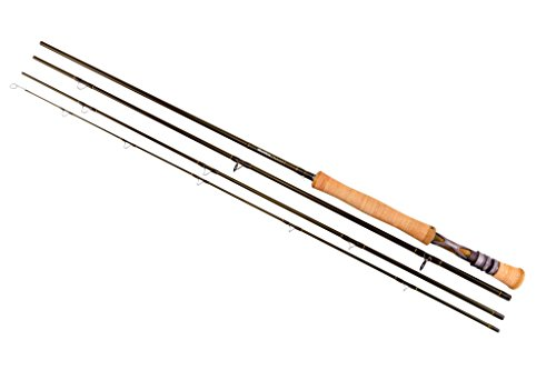 Snowbee Diamond 2 5 Wt. 4-Piece Fly Rod ,Olive Green 9 ft- High-Performance Tri-Modulus Carbon...