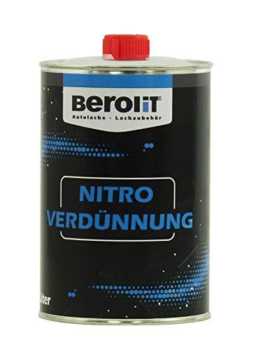 BEROLIT 1 L Nitroverdünnung Nitrowaschverdünnung Nitro Waschverdünnung Liter