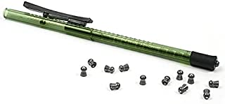 Air Venturi Pellet Pen, Holds 15 .22-Cal Pellets, Green