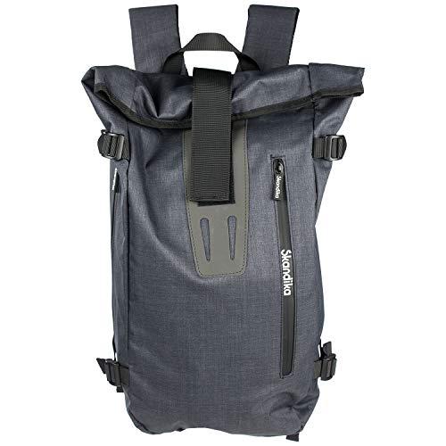 Skandika Bara Urban Style Design Rucksack Daypack Business Laptoptasche Reisetasche Tagesrucksack Organizer wasserabweisend für Damen, Herren, Schule & Reisen
