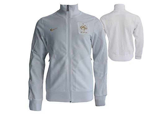 Nike Frankreich Jacke FFF N98 Jacket FFF Les Bleus Sport & Freizeit Top Fanartikel WM 2018, Größe:S