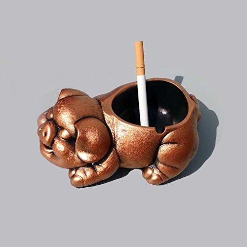 XP-ashtray Mohist Boutique Porc Cendrier Creative Personnalité Vin Armoire Chambre Décoration Mari Copain Cadeau d'anniversaire
