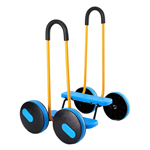 U/B Balance Bike für Kinder, sensorisches Training, Ausrüstung für Fitness, Spielzeug für die frühzeitige Erziehung, Balance Bike mit vier Rädern für den Hausgebrauch mit Armlehnen