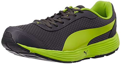 3. Puma Men's ReefFashionDP Black, Blue Jewel and White Running Shoes