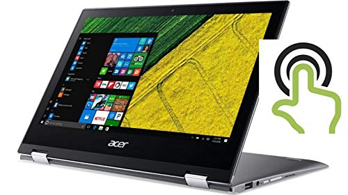 Acer High Performance Spin 11.6in FHD IPS Multi-Touch Laptop, Intel Pentium N4200 Quad-core Up to 2.5GHz, 4GB RAM, 64GB SSD, WiFi, Bluetooth, HDMI, Win10(Renewed)