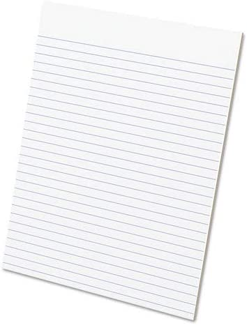 Ampad Ranking TOP9 Glue Top Pads Legal Rule 50-Sheet Letter Award-winning store White 1