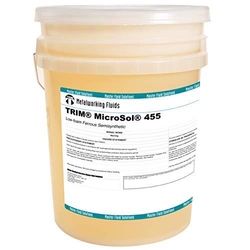 TRIM MicroSol 455 Low-Foam Semisynthetic, Microemulsion Coolant 5-Gallon Pail