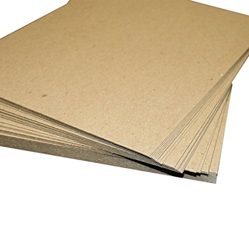 Secure Seal 12x12 Brown Chipboard Pads/Sheets 22pt Lightweight (Pack of 100)