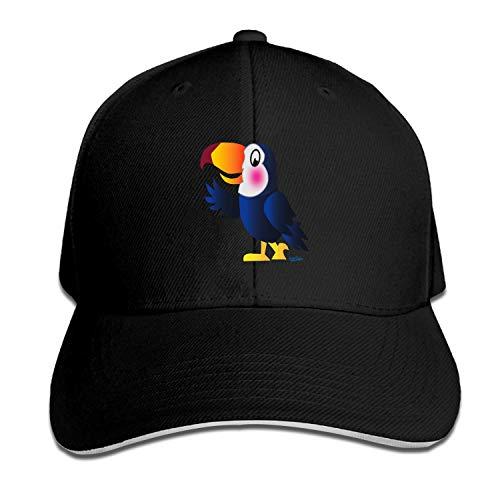 LUXNG Classic Art By Daniel Behr Baseball Cap Heren Hoeden Zwart Sport Cap, One Size