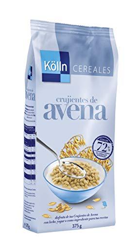 Kölln Cereales Integrales con Copos de Avena Crujiente, Cereales Integrales para Desayunos y Meriendas, 375 G