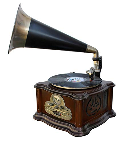 Soundmaster NR917 tocadisco Negro, Bronce, Marrón -