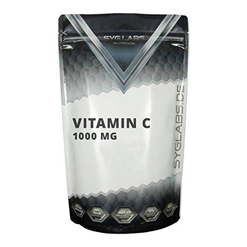 Syglabs Vitamin C 1000 mg Tabletten plus Biolavonoide und Hagebutte - 500 Tabletten, 1er Pack (1 x 650 g)