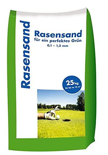 Hamann Rasensand 25 kg - mit unserem Rasensand wird verdichteter Boden wieder aufgelockert.