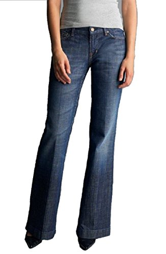 Citizens of Humanity Kate Wide Leg Stretch Jeans (27) Dark Blue
