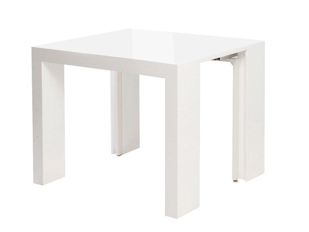 Habitat y jardín – mesa consola extensible Dina – blanco lacado: Amazon.es: Jardín