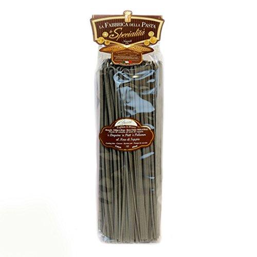 La Fabbrica Della Pasta di Gragnano - Linguine Nudeln mit schwarzer Squid Tinte aus Gragnano - 500 Gr