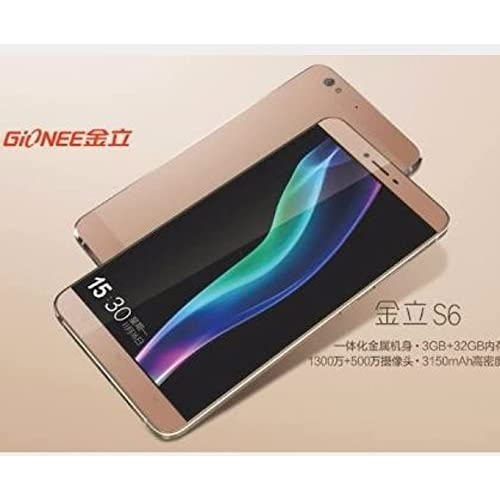 purchase cheap 44b12 464a8 Gionee s6 Smartphone (Gold): Amazon.in: Electronics