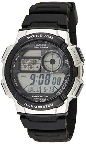 Casio Herren Uhr Digital mit Resinarmband AE-1000W-1A2VEF