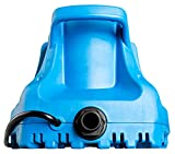 1. Little Giant 577301 APCP-1700 Automatic Swimming Pool Cover Submersible Pump, 1/3-HP, 115V, Blue