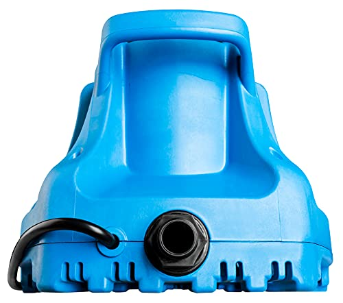 Best pool cover pump - Little Giant 577301 APCP-1700 Automatic Swimming Pool Cover Submersible Pump, 1/3-HP, 115V, Blue