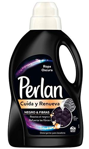 Perlan Cuida y Renueva Detergente Liquido para Ropa Oscura - 1250ml