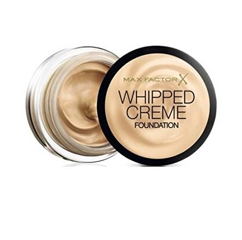 2 x Max Factor Whipped Creme Foundation 18ml Sealed - 45 Warm Almond
