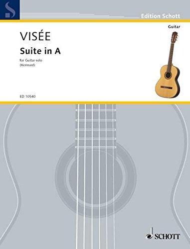Suite A-Dur: Gitarre. (Edition Schott)
