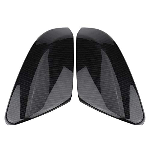 1 Pair Carbon Fiber Civic Wing Mirror Covers Car Side Mirror Caps Rearview Mirror Covers for Honda Civic Sedan Coupe 2016-2018