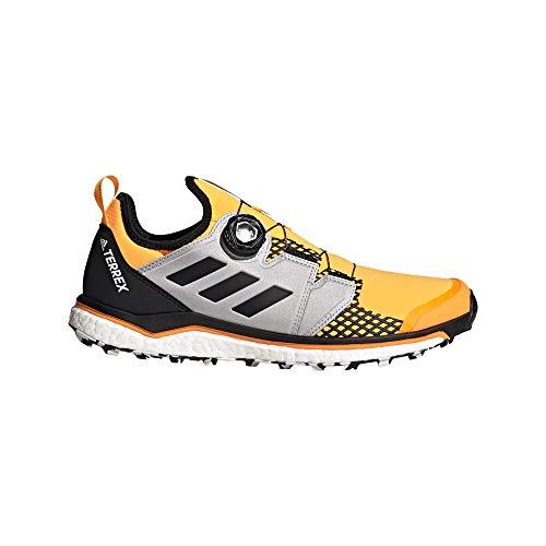 adidas Herren Terrex Agravic BOA Laufschuhe, Dorsol/Negbás/Ftwbla, 45 1/3 EU