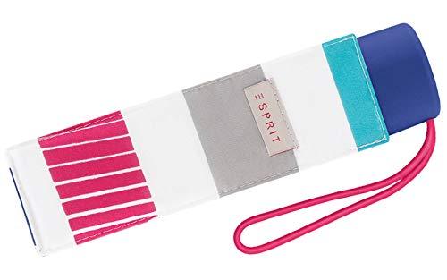 Esprit Taschenschirm Petito Summer Stripes - Bright