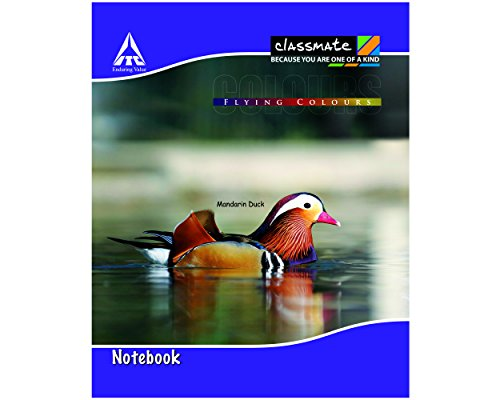Classmate Notebook - Single Line, 172 Pages, Hard Cover, 190mm*155mm (Pack Of 6)
