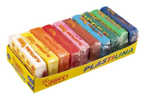 Jovi Plastilina, color surtido multicolor, 10 unidades (70/10S)