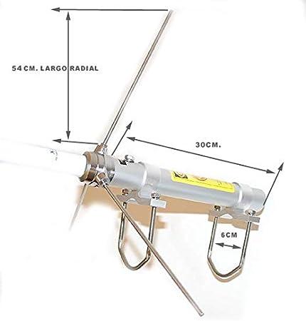 Diamond X-200 Antena bibanda de Base 144-430 MHz ...