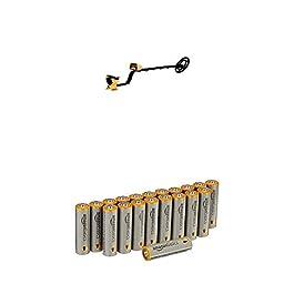Détecteur de Métaux GARRETT ACE 250 avec piles Amazon Basics