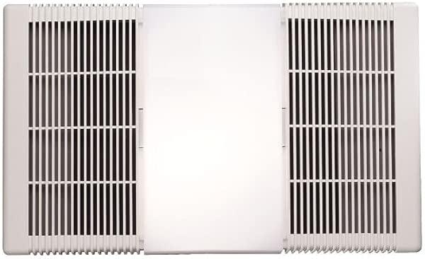 Broan Nutone 665RP Heater Fan And Light Combo For Bathroom And Home 4 0 Sones 1300 Watt Heater 100 Watt Light 70 CFM