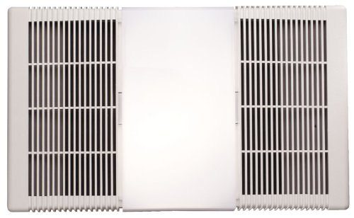 Broan-Nutone  665RP  Heater, Fan, and Light Combo for Bathroom and Home, 4.0 Sones, 1300-Watt...