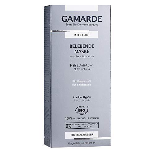GAMARDE Bio-Kosmetik: Belebende Maske mit Anti-Aging-Effekt & Ani-Müdigkeits-Formel für reife Haut I Natur-Kosmetik Gesichtsmaske I Natürliche Face Mask I Vegane Gesichtsmaske Männer & Frauen I 40 ml