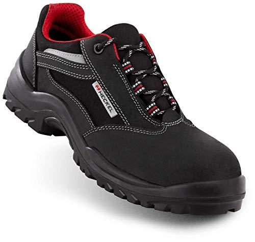 Focus 2.0 S3 Low - Chaussures de sécurité - Chaussures de Travail Mixte - Noir/Rouge